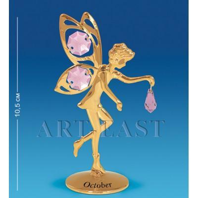 """Фигурка """"Фея"""" - октябрь 6x4x10,5 см., Crystal Temptations, США"""