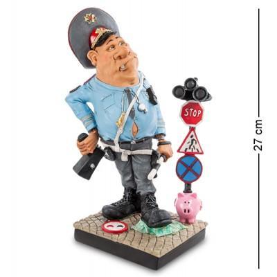 """Статуэтка Полицеский """"Ну настоящий полковник..."""" 11x17x27 см., полистоун Warren Stratford Канада"""