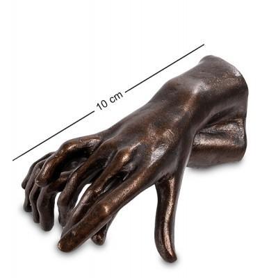 """Статуэтка """"Две руки"""" Огюста Родена 10x7x5 см., полистоун Parastone, Нидерланды"""