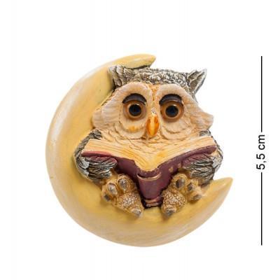 "Фигурка-магнит ""Сова"" 5x1,5x5,5 см., полистоун Sealmark, США"