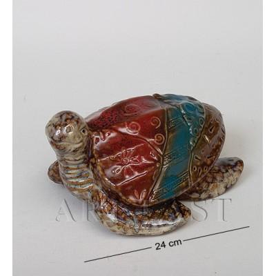 Фигура декор. Черепаха 24 см., керамика