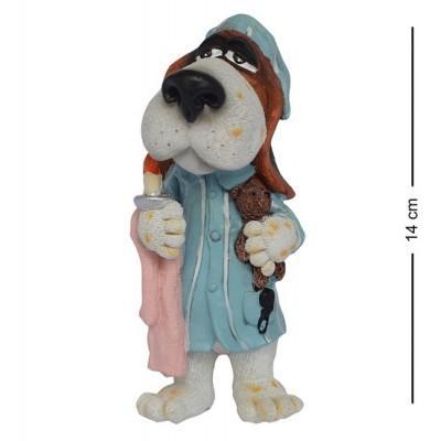 """Статуэтка Собака """"Сладких снов"""" 14 см., полистоун Warren Stratford, Канада"""