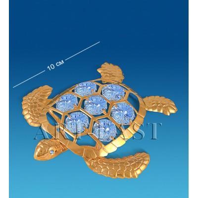 "Фигурка ""Морская черепаха"" 10x9,5x2,5 см., Crystal Temptations, США"