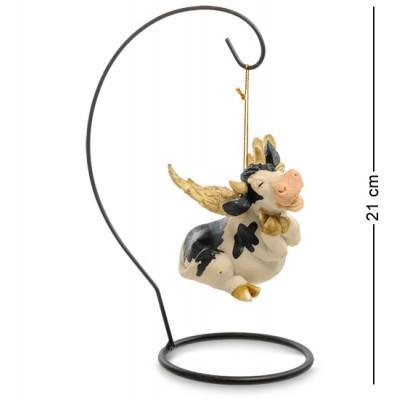 """Фигура """"Корова летающ."""" 21х13х10 см., полистоун Sealmark, США"""