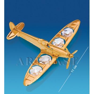 "Фигурка ""Самолет"" 9x11x3 см., Crystal Temptations, США"