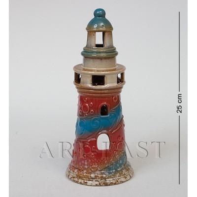 Фигура-подсвечник декор. Маяк 25 см., керамика