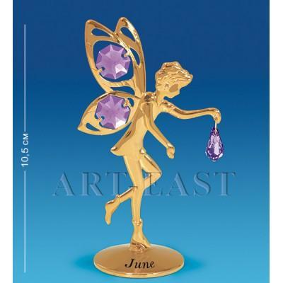 """Фигурка """"Фея"""" - июнь 6x4x10,5 см., Crystal Temptations, США"""