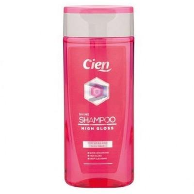 Шампунь Cien High Gloss для блеска волос 300 мл., Германия