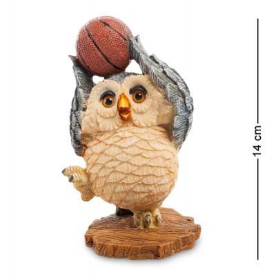 "Фигурка ""Совенок-баскетболист"" 8,5x8x14 см., полистоун Sealmark, США"