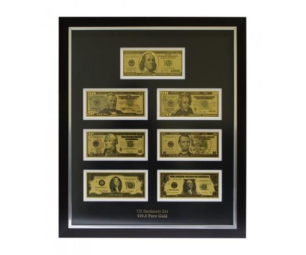 Панно ''Все банкноты USD (доллар) США''