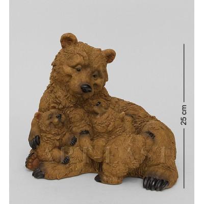 """Фигура """"Счастливое семейство"""", 28х21,5х25 см., полистоун Sealmark, США"""