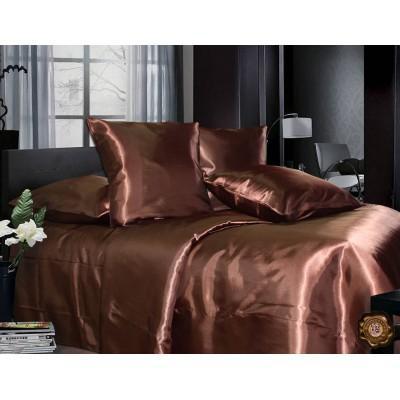 Комплект постельного белья Двуспальный, Атлас (2-х сп.ЕA0016)