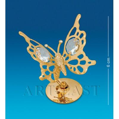 "Фигурка ""Бабочка"" 6x5x6 см., Crystal Temptations, США"