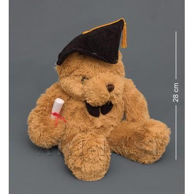 """Мягкая игрушка медведь """"Магистр"""" 43см Color Rich"""