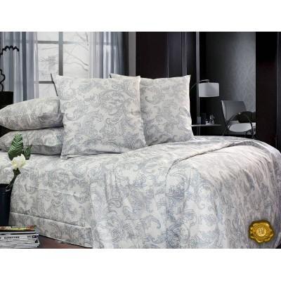 Комплект постельного белья Полуторный, Сатин (1.5-сп.ЕС0151)