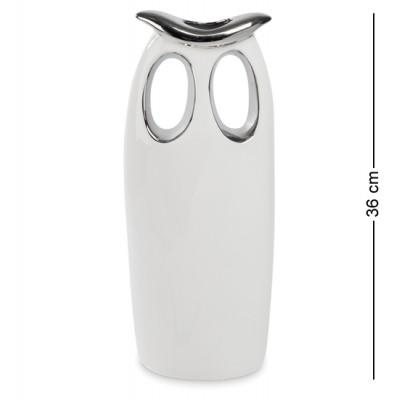 """Статуэтка-подсвечник """"Мудрая сова"""" 14x9x36 см., Art Ceramic, Чехия"""