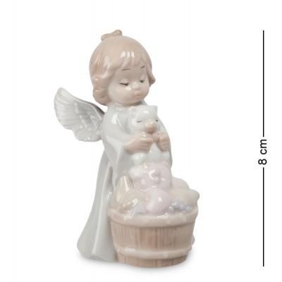 """Фигурка """"Ангел"""" 4,5x5,5x8 см., фарфор Pavone, Италия"""