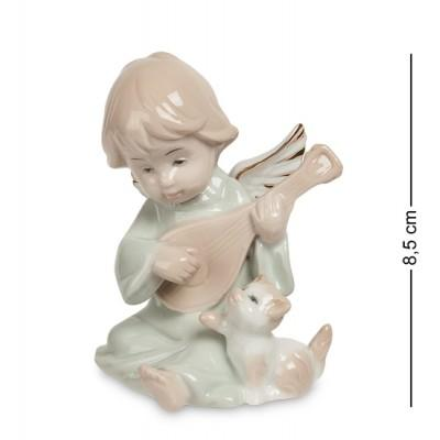 """Фигурка """"Ангелочек"""" 7x7x8,5 см., фарфор Pavone, Италия"""