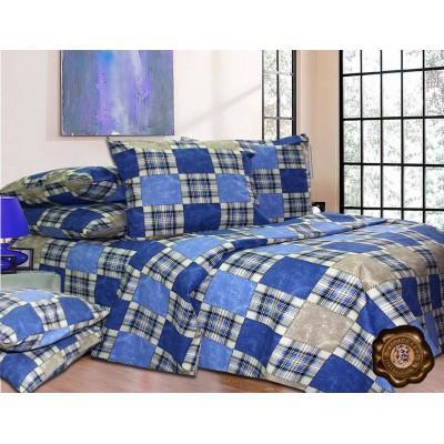 Комплект постельного белья Двуспальный, Бязь-100% хлопок (2-х сп.ЕТ0270)
