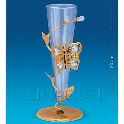 Фигурка-ваза с бабочкой 23 см., Crystal Temptations, США
