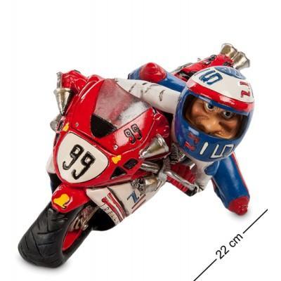 """Статуэтка мотоцикл """"Pilo"""" 22x13x14 см., полистоун Warren Stratford Канада"""