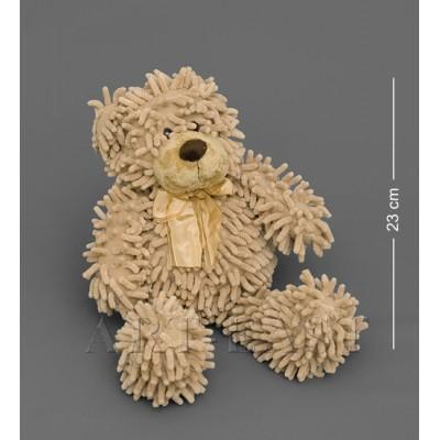 Мягкая игрушка медведь с бантиком - коричневый 35см., Color Rich