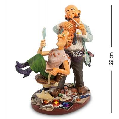 "Статуэтка ""Парикмахер"" 30x19x29 см., полистоун Parastone, Нидерланды"
