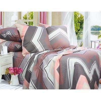 Комплект постельного белья Евро, Бязь-100% хлопок (ЕТ0670)