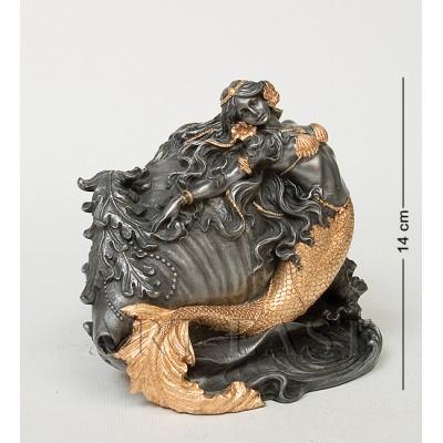 "Статуэтка-шкатулка ""Ракушка с Русалкой"", 18х14х14 см., полистоун Veronese, Гонконг"