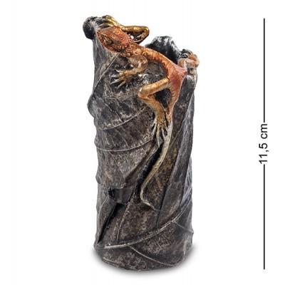"""Ваза """"Ящерица"""", 11,5 см., полистоун"""