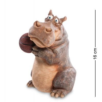 "Фигурка ""Бегемот"" 10x10,5x16 см., полистоун Sealmark, США"