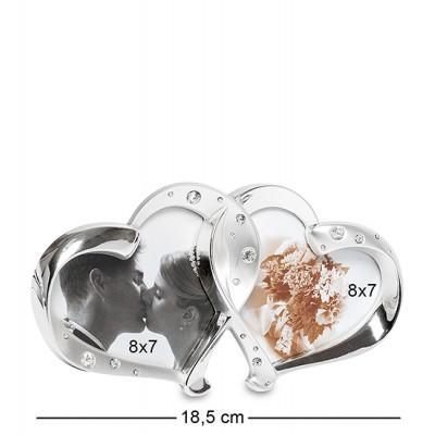 "Коллаж ""Влюблённые сердца"" на 2 фото 8х7 см., Bellezza Casa, Италия"