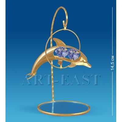 """Подвеска над зеркалом """"Дельфин"""" 14.5 см., Crystal Temptations, США"""