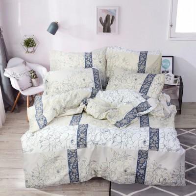 Комплект постельного белья Двуспальный, Бязь-100% хлопок (2-х сп.ЕТ0745)