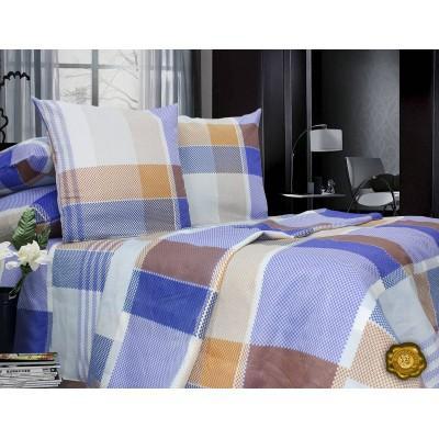 Комплект постельного белья Евро, Поликоттон (ЕП0046)
