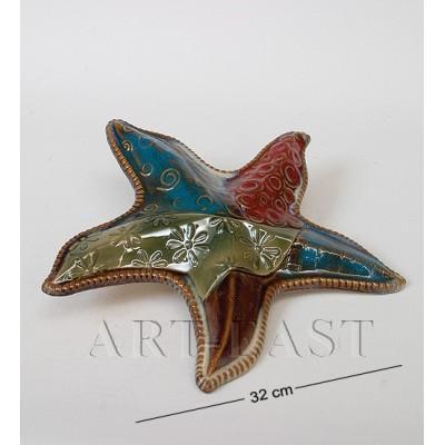 Фигура декор. Моская звезда 32 см., керамика