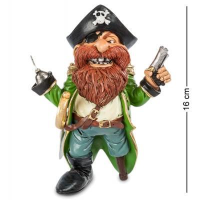 "Фигурка Пират""Джеймс Крюк"" 13x11x16 см., полистоун Warren Stratford Канада"