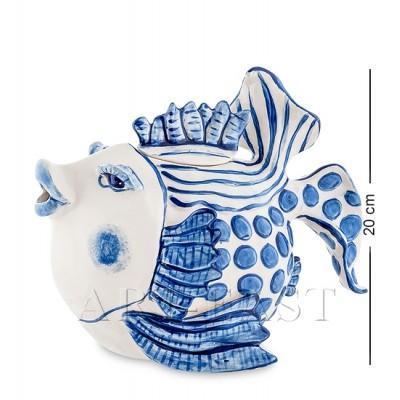 """Заварочный чайник """"Рыба"""" 1.2 л., Blue Sky, Италия"""