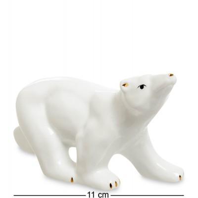 "Фигурка ""Белый медведь"" 11x4,5x7 см., фарфор"