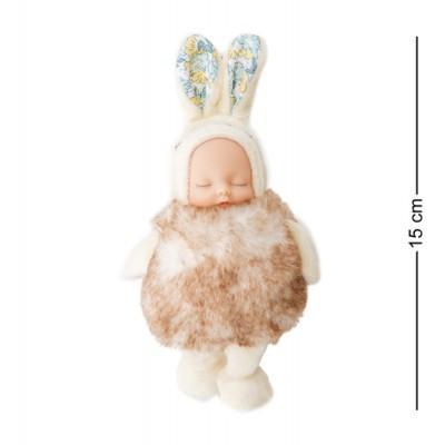 Брелок Малыш в костюме Зайчика, 15 см., PT-72-B