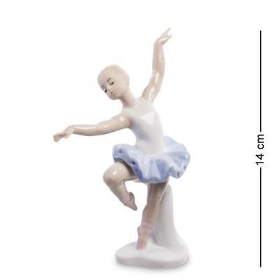 "Фигурка ""Юная балерина"" 9x5x14 см., фарфор Pavone, Италия"
