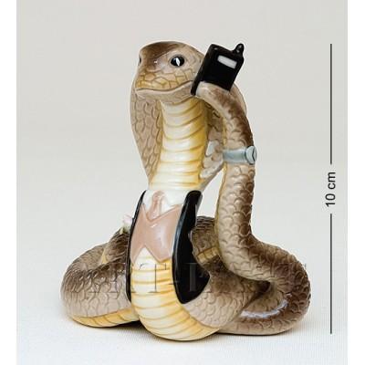 "Фигурка ""Змея-Бизнесмен"" 10 см., Pavone, Италия"