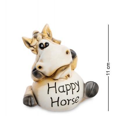 "Статуэтка-копилка ""Счастливая лошадка"", 11,5х8х11 см., полистоун"