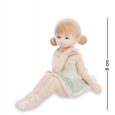 "Фигурка ""Балерина"", 7х9х8 см., фарфор"
