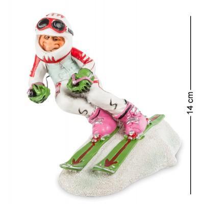 "Фигурка ""Горные лыжи"" 20x15x14 см., полистоун Warren Stratford Канада"