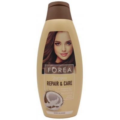Шампунь женский для волос Forea с маслом кокоса, 500 мл., Германия