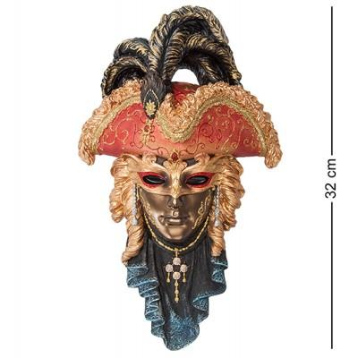 "Венецианская маска ""Треуголка"" 20x6x32 см., Veronese, Гонконг"