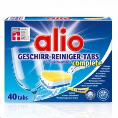 Таблетки для посудомоечных машин Alio, 40 шт., Германия