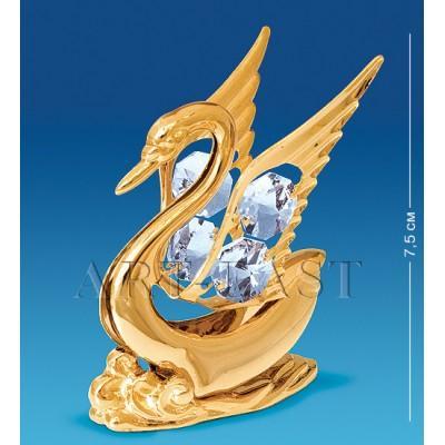 """Фигурка """"Лебедь"""" 6x6,5x7,5 см., Crystal Temptations, США"""