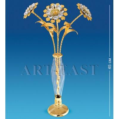 "Фигурка ваза ""Цветы"" 45 см., Crystal Temptations, США"
